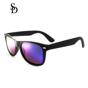 Sodear retro sunglasses 2017 fashion polarized couple sunglasses black purple