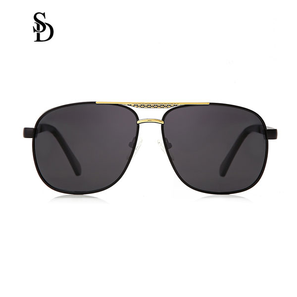 Sodear discount sunglasses hi-light metal fashion sunglasses for men gold black