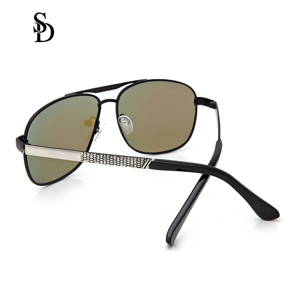 Sodear discount sunglasses hi-light metal fashion sunglasses for men sliver blue