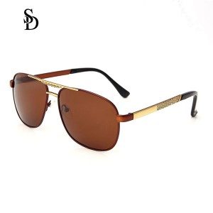 Sodear discount sunglasses hi-light metal fashion sunglasses for men gold tea