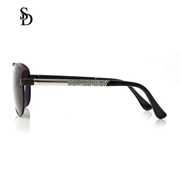 Sodear discount sunglasses hi-light metal fashion sunglasses for men sliver black