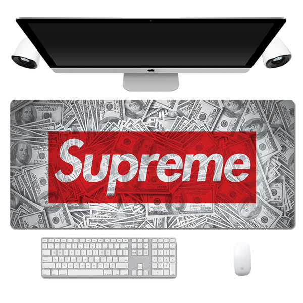 Fashion Supreme Dollar Pattern Lengthen Computer Gaming Mouse Pad