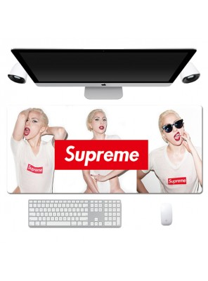 Fashion Supreme Red Lips Pattern Lengthen Computer Gaming Mouse Pad