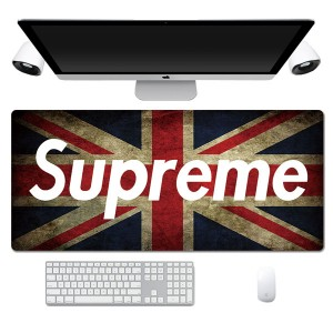Fashion Supreme Flag Pattern Lengthen Computer Gaming Mouse Pad