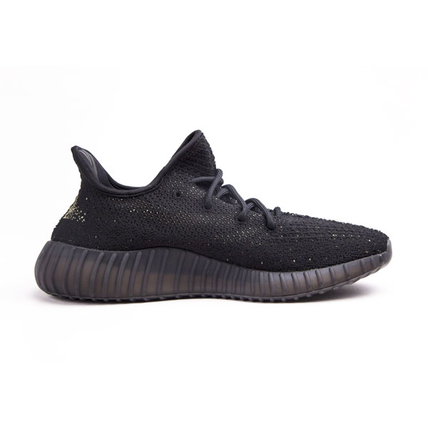 Classic adidas yeezy boost 350 v2 core black green kanye west sneakers