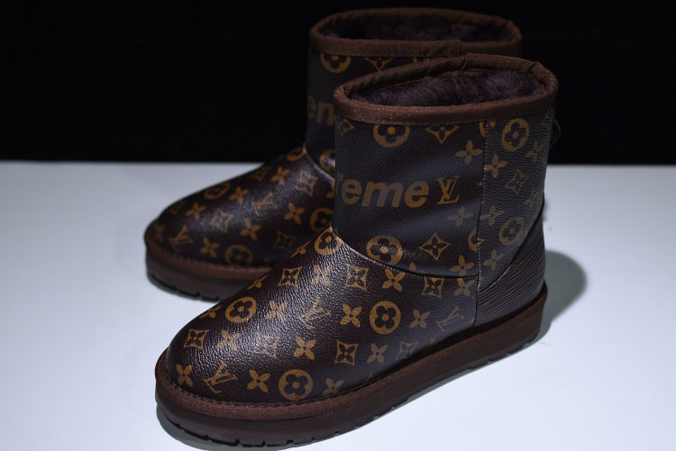 Limited Louis Vuitton X Supreme X UGG Women's Boots Collection